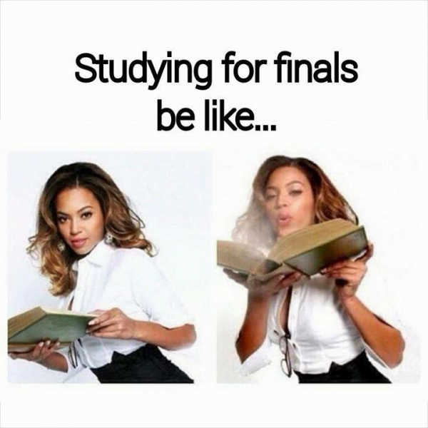 Studying for finals be like... - Funny and Hilarious Medical pictures Studying For Finals Funny