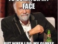 I don't always need to scratch my face - Funny and Hilarious Medical Pictures