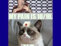 My pain is 10:10 - Funny and Hilarious Medical Pictures