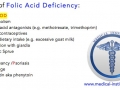 Causes of Folic Acid Deficiency Mnemonic