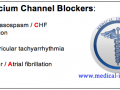 Use of Calcium Channel Blockers Mnemonic - Medical Institution