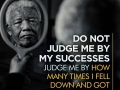 Do not judge me by my successes - Best Inspirational and motivational quotes of all time - Medical institution