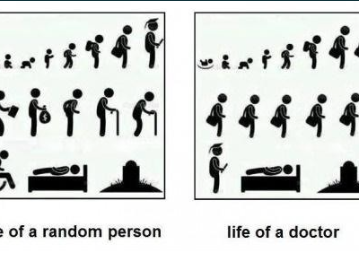 Life of a random person versus a doctor - Funny Medical Pictures