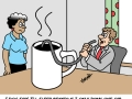 Only one cup of coffee a day - Funny Medical Pictures