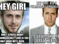 Ryan Gosling Pick Up Lines for Medical Students - Funny Medical Pictures