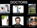 What every thinks of medical students - Funny Medical Pictures