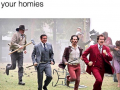 When you respond to a code with your homies