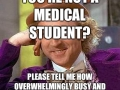 You're not a medical student - Funny Medical Pictures