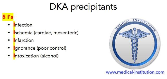 DKA Precipitants Mnemonic