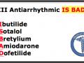 Class III Anti-arrhythmic Mnemonic