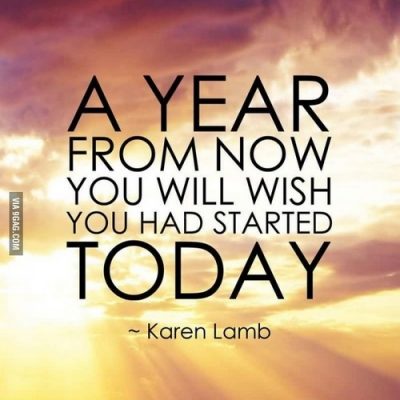 A year from now - Best Inspirational and Motivational Quotes