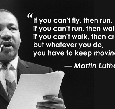 If you can't fly then run - Best Inspirational and Motivational Quotes