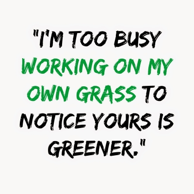 Im-too-busy-working-on-my-own-grass