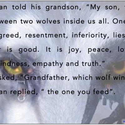 The Inner Wolf - Best Inspirational and Motivational Quotes