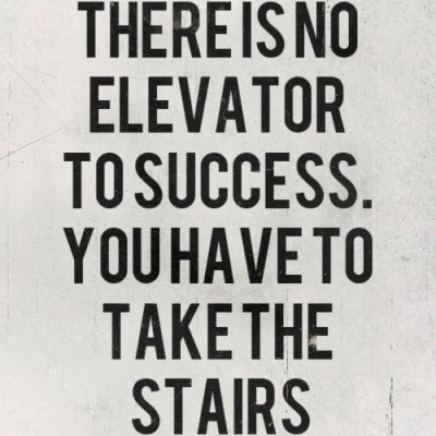 There-is-no-elevator-to-success